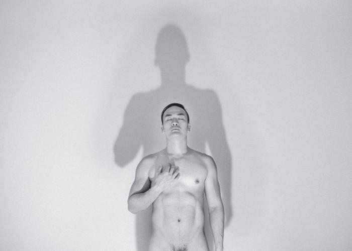 B&W Nude Art Selfie Challenge - Inner Self