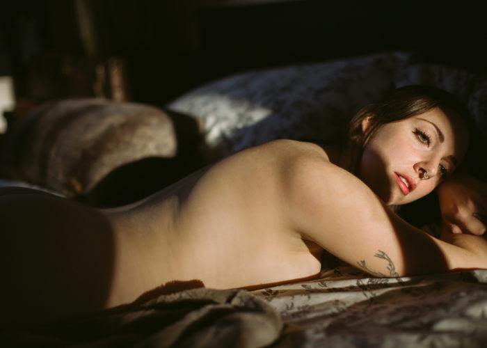 Intimate Lifestyle   Figurative Art Photography - Stefanie