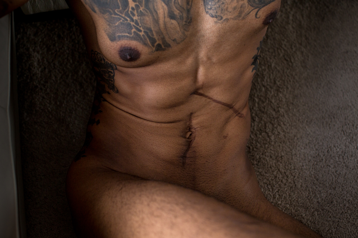 Calgary Male Boudoir Photography